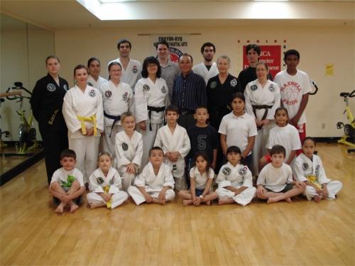 Grandmaster Kim Visits Tucson CYR